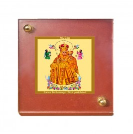 24K GOLD PLATED MDF 1B CLASSIC COLOR LADY OF HEALTH