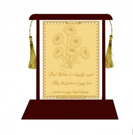 24K GOLD PLATED Wedding Anniversary Wishes
