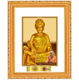 24K GOLD PLATED DG FRAME 103 SIZE 2 CLASSIC COLOR SWAMI NARAYAN