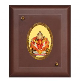 MDF FRAME SIZE 2 ROYALE COLOR  OVAL SIDDHIVINAYAK