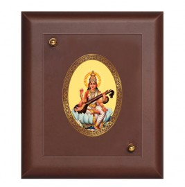 MDF FRAME SIZE 2 ROYALE COLOR  OVAL SARASWATI