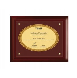 MDF FRAME APPRECIATION CERTIFICATE