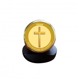 24K GOLD PLATED MCF 1C GLD CLASSIC COLOR CROSS