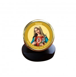 MCF 1C GLD CLASSIC COLOR  CIRCULAR MOTHER MARY