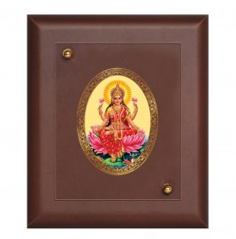 24K GOLD PLATED MDF FRAME SIZE 1 ROYALE COLOR LAKSHMI