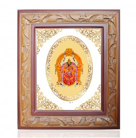WOODEN FRAME SIZE 2.5 ROYALE COLOR   OVAL PADMAWATI