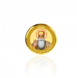 COIN SINGLE SIDED SIZE 3C GURU NANAK