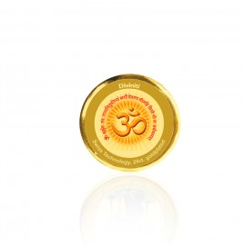 COIN SINGLE SIDED SIZE 3C OM GAYATRI MANTRA