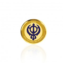COIN SINGLE SIDED SIZE 3C KHANDA SAHIB