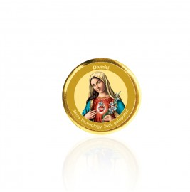 COIN SINGLE SIDED SIZE 3C MOTHER MARY