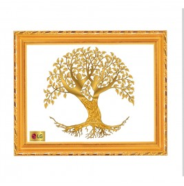 24K GOLD PLATED DG FRAME 103 SIZE 3 TREE OF LIFE