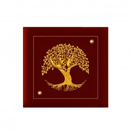 24K GOLD PLATED WALL HANGING MDF SIZE 1A TREE OF LIFE