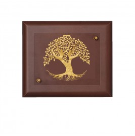 24K GOLD PLATED WALL HANGING MDF SIZE 2 TREE OF LIFE