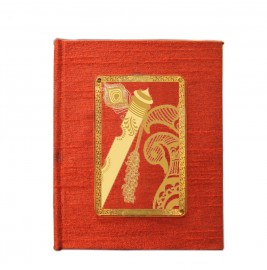 24K GOLD PLATED JOURNAL & NOTEBOOK ACRYLIC FLUTE