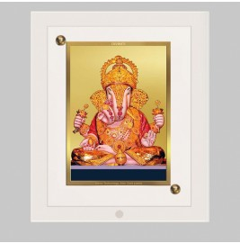 24K GOLD PLATED ACF FRAME SIZE 1 CLASSIC COLOR GANESHA-3