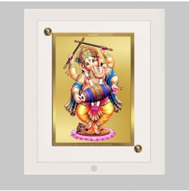 24K GOLD PLATED ACF FRAME SIZE 1 CLASSIC COLOR GANESHA-4