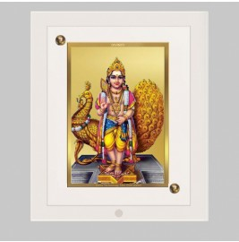 24K GOLD PLATED ACF FRAME SIZE 2 CLASSIC COLOR KARTHIKEY
