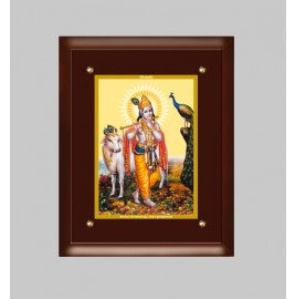 24K GOLD PLATED MDF FRAME SIZE 4 CLASSIC COLOR KRISHNA -1