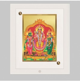 24K GOLD PLATED ACF FRAME SIZE 2 CLASSIC COLOR MURUGAN VELLI