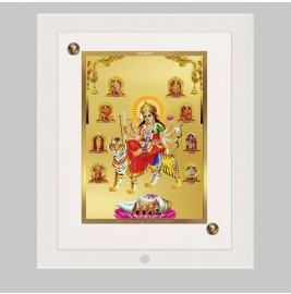 24K GOLD PLATED ACF FRAME SIZE 2 CLASSIC COLOR NAV DURGA