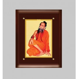 24K GOLD PLATED MDF FRAME  SIZE 3 CLASSIC COLOR SWAMI POORNANAND