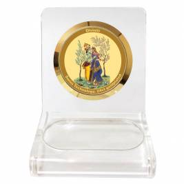 24K GOLD PLATED WPCF 1C CLASSIC COLOR RADHA KRISHNA