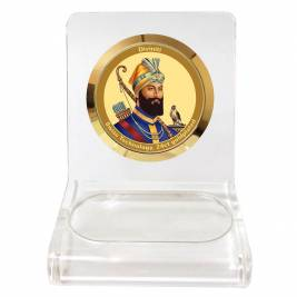 24K GOLD PLATED WPCF 1C CLASSIC COLOR GURU GOBND SINGH