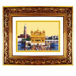 24K GOLD PLATED DG FRAME 93 SIZE 4.5 CLASSIC COLOR GOLDEN TEMPLE