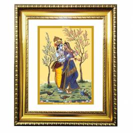 24K GOLD PLATED DG FRAME 81 SIZE 4.5 CLASSIC COLOR RADHA KRISHNA