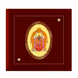 24K GOLD PLATED MDF FRAME SIZE 7D ROYALE COLOR PADMAWATI