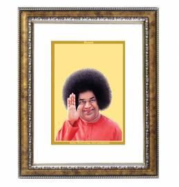 24K GOLD PLATED DG FRAME 113 SIZE 2 CLASSIC COLOR SATYA SAI