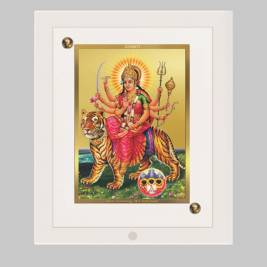 24K GOLD PLATED ACF FRAME SIZE 1 CLASSIC COLOR DURGA-1